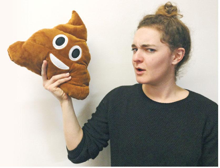 英國巴斯大學科學家迪林(圖)稱,開發與測試人造糞便樣本並非令人愉快的工作,但有望改善百萬計民眾的生活。(網上圖片)