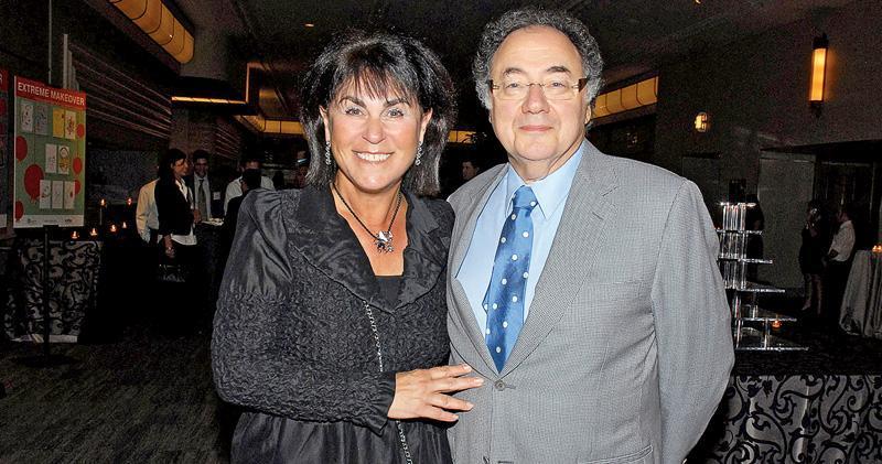 舍曼夫婦2010年8月出席加拿大猶太人慈善組織United Jewish Appeal的籌款活動。(路透社)