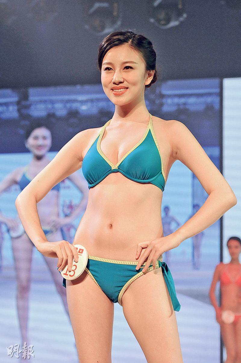 來自上海的高銘璐擊敗一眾佳麗摘后冠。(攝影/記者﹕林祖傑)