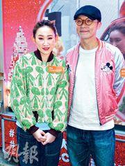 王菀之與老公蘇卓航昨日出席活動,大談夫妻甜蜜生活。(攝影/記者﹕唐嘉晞)