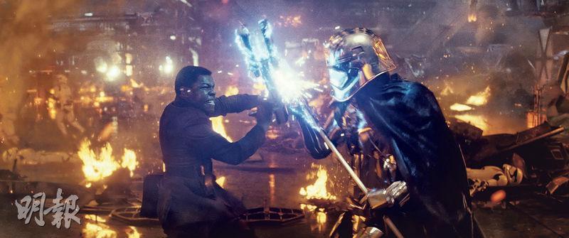 《星球大戰:最後絕地武士》在美國開畫,票房報捷,但能否打破上集成績卻存疑。