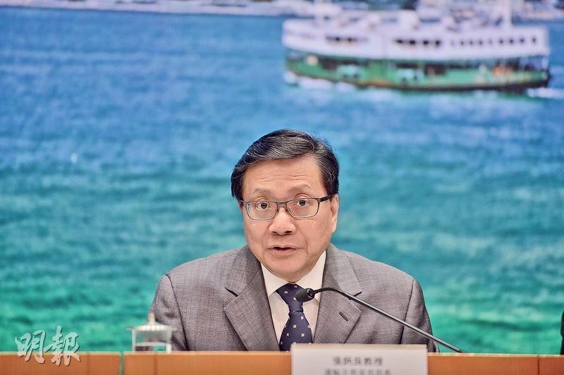 運輸及房屋局前局長張炳良(圖)呼籲,泛民同北京需要非正式溝通,增加雙方信任。(資料圖片)
