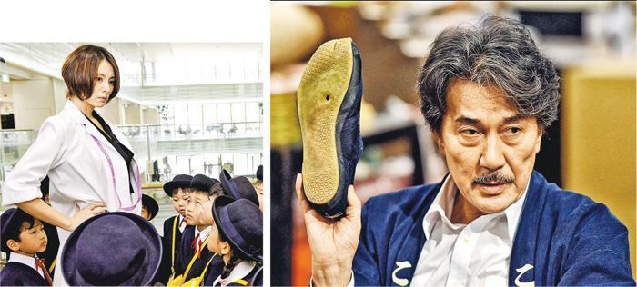 役所廣司(右)與米倉涼子(左)主演的日劇,不但於今季獲得高收視,還贏得口碑,獲劇迷選為秋季視帝、視后。