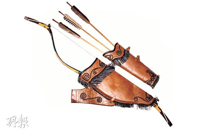 聚元號製作的弓箭。(網上圖片)
