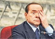 意大利前總理貝盧斯科尼(Silvio Berlusconi)