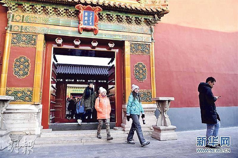 北京故宮今年起開放啟祥門(圖)至隆宗門廣場段。(網上圖片)