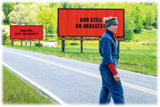 Mildred (portrayed by Frances McDormand, who won the Academy Award for Best Actress in 1996) and her billboards.