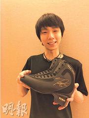 羽生結弦的一對溜冰鞋為311大地震籌得逾60萬港元善款。