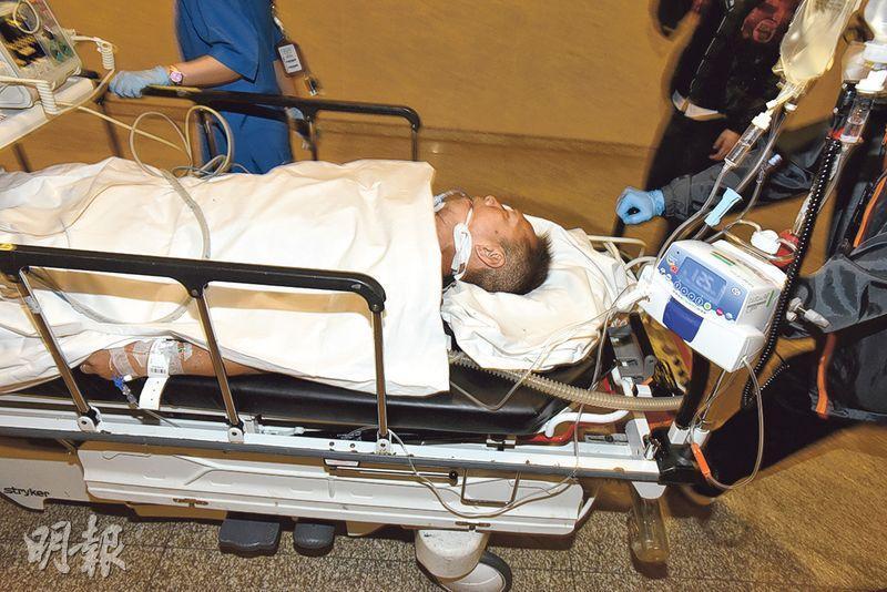 六旬漢在瀝源邨停車場對開被打後昏迷,送院搶救後不治,警方其後將案件改列謀殺,追緝一名年齡相若涉案男子。