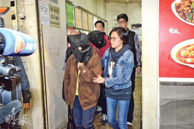 突然結業的柏茵旅遊約有200市民受影響,西九龍總區重案組接手調查後拘捕公司的男女董事。(伍浦鋒攝)