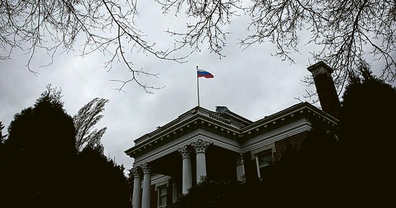 俄羅斯駐美國西雅圖領事館(圖)被美方下令關閉。(路透社)