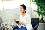 朱千雪美貌與智慧並重,難怪深受廣告商歡迎。