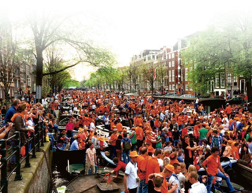 橙色派對 慶荷蘭國王節