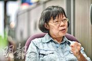 香港房屋政策評議會總幹事葉肖萍批評,政府成立土地供應小組只是拖延時間,「大辯論」難在短期內解決到基層市民的住屋問題,促請政府暫停賣地兩年,把土地用來興建公屋。(蘇智鑫攝)