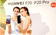 美司法部正就華為是否違反美國對伊朗的制裁刑事調查。圖為華為在台北推出新手機P20/P20Pro。(中新社)