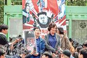有反朝鮮組織昨日在軍事分界線附近試圖發放反朝氣球進入朝鮮。(路透社)