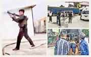 緬甸北部鄰近中國的木姐地區前日發生武裝衝突,造成人命傷亡,並有流彈落入中國境內。圖為緬甸北部當地情况。(網上圖片)