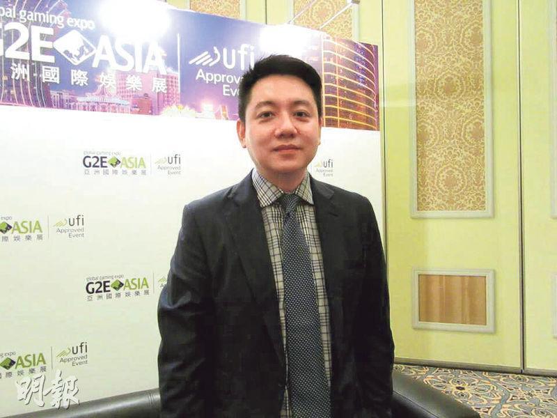 太陽城集團執行董事盧啟邦(圖)表示,現時北京王府大飯店的資產已屬周焯華所有,但仍需時處理官司的手尾、申請證照復業及重新設計項目,他們正爭取盡快啟動項目。(陳偉燊攝)