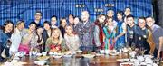 黃偉文前晚開閃令令為主題的生日派對,一眾好友閃爆到賀,其中傳分手的容祖兒與劉浩龍同場現身成為焦點。(資料圖片)