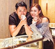 江若琳與未婚夫蕭潤邦曬婚戒放閃。