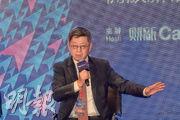 中國(海南)改革發展研究院院長遲福林昨日表示,海南無法取代香港。(楊柏賢攝)