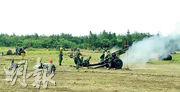 漢光演習是台灣年度軍事演習,假想敵多為大陸解放軍。(中央社)