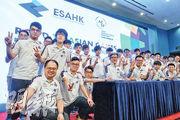首支中國香港電競代表隊本月初與傳媒見面,《傳說對決》有6名香港代表,另外3個遊戲各有一代表出線。他們將於今年8月到印尼雅加達出戰亞運電競示範項目。(資料圖片)