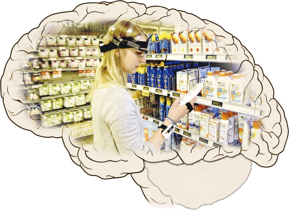 荷蘭一間研究公司以實驗對象的腦電波變化和追蹤眼球活動,研究神經營銷學。(網上圖片)