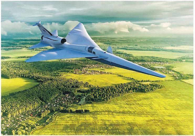 美國太空總署的X-59 QueSST預計2021年就會交貨。(網上圖片)