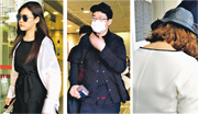 整容公司女經理Ryu Seungyeon(左圖)負責為「放蛇」女警量度身體不同部位的尺寸,再由整形男醫生(中圖)建議從手臂、大腿及肚腩抽脂。香港中介公司「365MC」女董事張洛殷(右圖)獲悉脫罪後,在庭上不禁落淚,離開時戴上口罩,由兩名友人從旁遮掩。(周芷晴攝)
