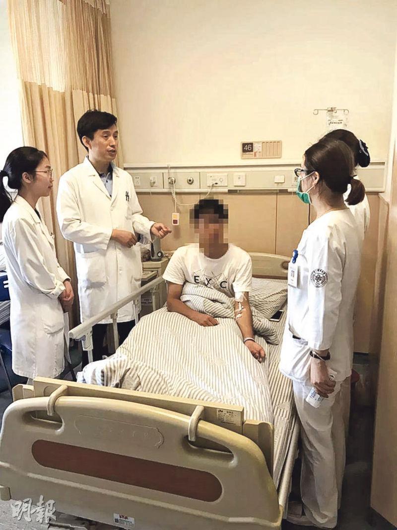杭州一間公司38名新員工參加拓展訓練僅兩天,11個人便患上橫紋肌溶解綜合症,要入院治療。(網上圖片)