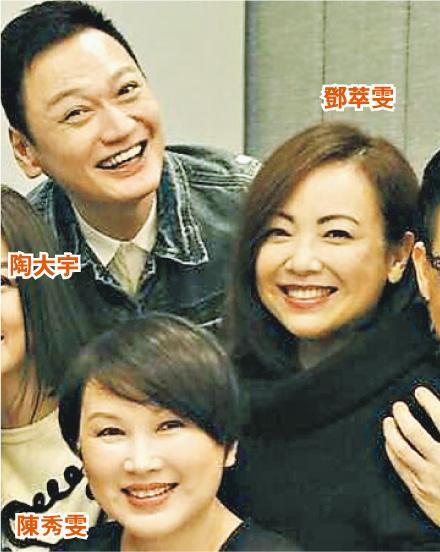 陶大宇、鄧萃雯與陳秀雯相繼效力ViuTV。(資料圖片)