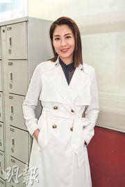陳敏之感激劇組為她準備有型戲服,不用出動私伙。(攝影/記者:鍾一虹)