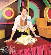 袁詠儀鍾意幸福肥,今次為了電影角色才刻意減磅。(攝影/記者:柯美)
