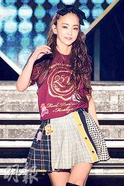 安室奈美惠靠巡迴演唱會掙下大筆「退休金」。