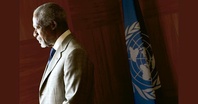 聯合國前秘書長安南逝世 首位黑人秘書長 享年80