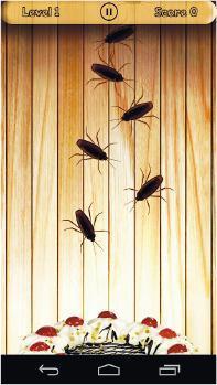 手機遊戲Bug Smasher畫面。(網上圖片)
