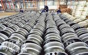 美國商務部初步確定,要對中國補貼率達58.75%至172.51%的進口轆鈴徵收關稅。圖為江蘇省連雲港市一家工廠準備出口的轆鈴。(路透社)