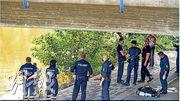 德國警察周二在耶拿薩勒河沿岸搜尋,最終撈起26歲中國留學生的屍體。(網上圖片)