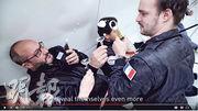 法國一間酒廠委託設計師設計出零重力香檳樽,每次可推出一小杯泡沫狀的酒,讓身處太空者可舉杯飲。(法新社)