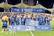 傑志(圖)昨憑完場前入球以1:0擊敗和富大埔,蟬聯社區盃兼取得今季首項錦標。(余瑋攝)