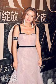 陳煒表示千嬅無遲到,而且有演員品德,好值得敬佩。(攝影:孫華中)