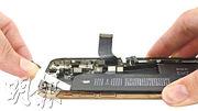 iPhone XS採用L形電池設計。(網上圖片)