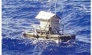 Rompong(上圖)是印尼捕魚用的木籠。