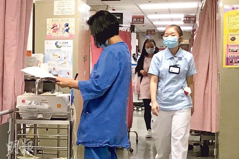 每年約有1100名員工懷孕的醫管局,將跟隨政府提供14周產假,預料每年額外涉及6000萬元開支。(明報記者攝)
