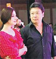 范冰冰的台灣經紀人穆曉光昨日在台北與髮妻離婚。圖為范冰冰(左)與穆曉光(右)。(網上圖片)