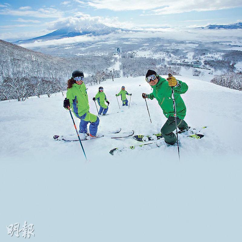 辻泰弘稱,新雪谷(圖)突然大熱,主要是得力於海外旅客宣傳。(網上圖片)