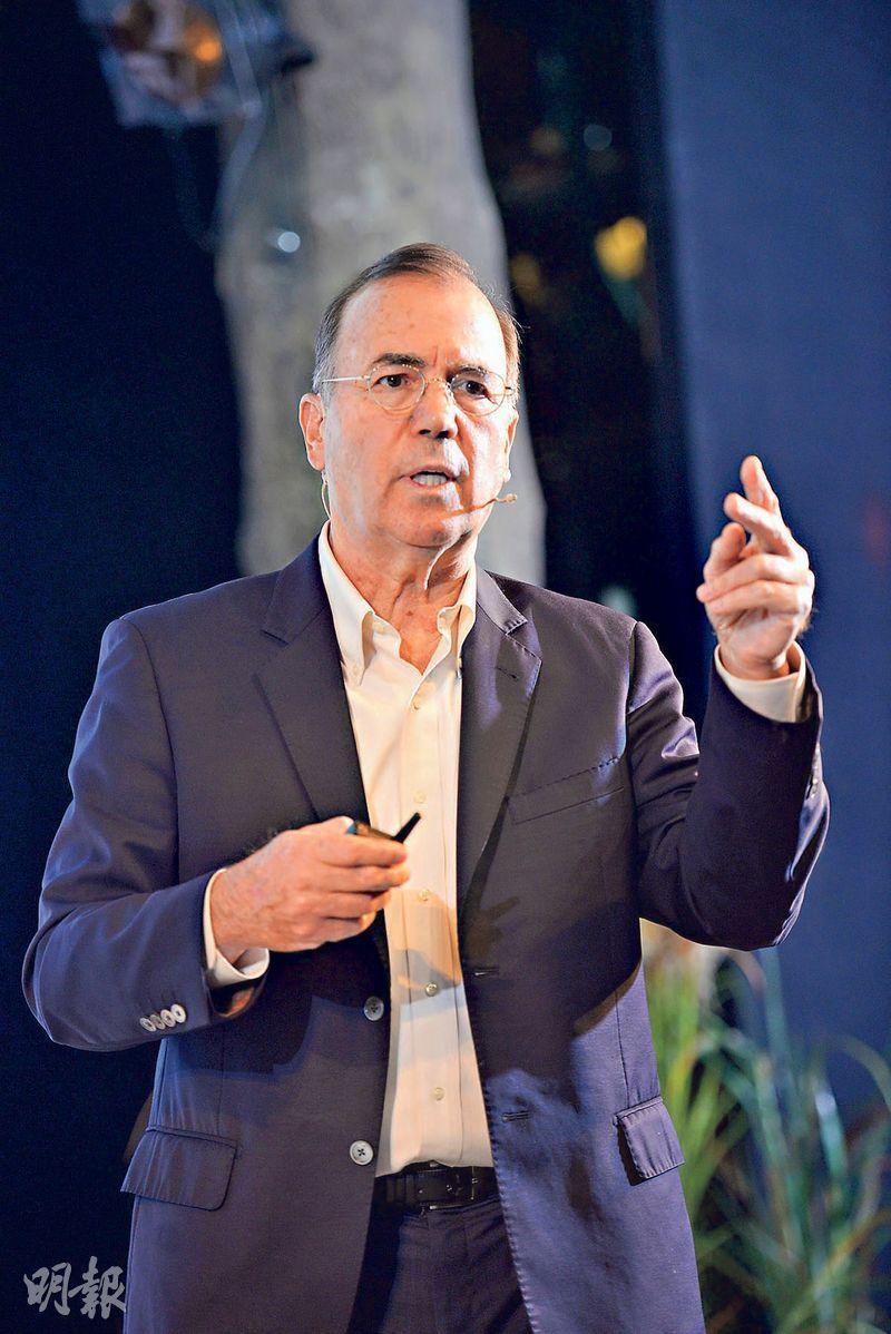 以色列創新局董事會主席暨首席科學家Ami Appelbaum(圖)說,創新局成立44年,近年每1美元的投資可帶來5至8美元的經濟增長,回報相當可觀。(以色列智慧出行高峰會提供)
