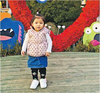 患先天膽管閉塞的1歲半女童利欣殷(圖)曾接受兩次換肝手術,捐贈者分別為母親及好心人。利父表示,他曾患癌不適合捐肝,幸得好心人捐活肝,讓女兒重獲新生。他期望市民支持器官捐贈,認為捐屍肝始終比活肝好,因活體捐贈者要承受手術風險。圖為欣殷早前到韓國旅行的照片。(家屬提供)