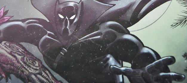 Black Panther 的漫畫形象。(法新社)